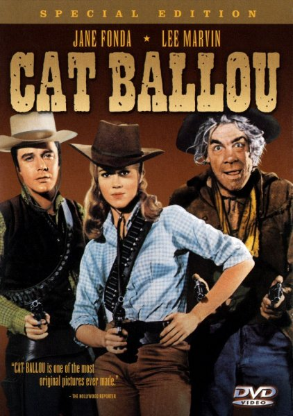 detail Cat Ballou - DVD