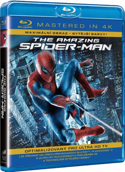 detail Amazing Spider-Man - Blu-ray (Mastered in 4K)