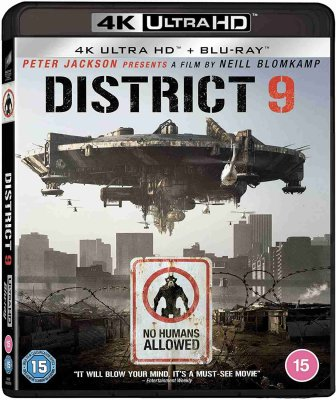 District 9 - 4K UHD Blu-ray