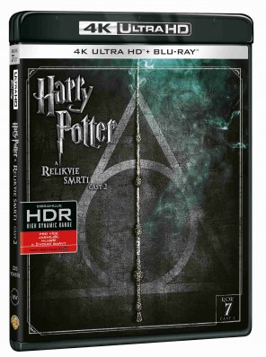 Harry Potter a Relikvie smrti 2 (4K Ultra HD) - UHD Blu-ray + Blu-ray (2 BD)