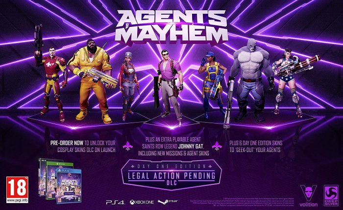 detail Agents of Mayhem (Day One Edition) - PC
