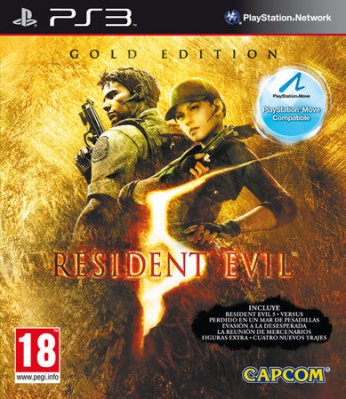 Resident Evil 5 Gold Move Edition - PS3 Move