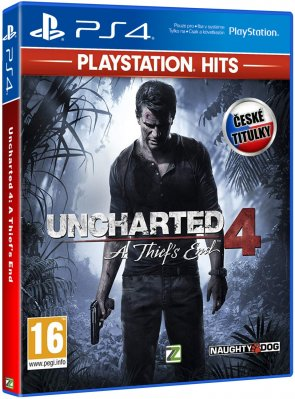 Uncharted 4: A Thief's End HITS CZ - PS4