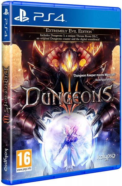 detail Dungeons 3 Extremely Evil Edition - PS4