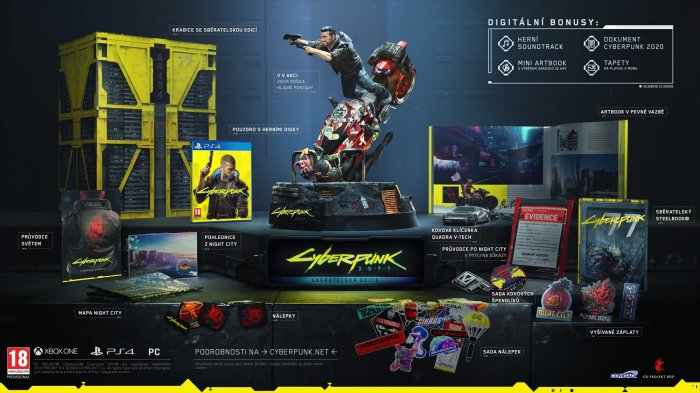 detail Cyberpunk 2077 Collector's Edition - PS4