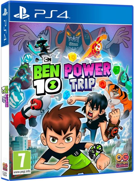 detail Ben 10: Power trip! - PS4