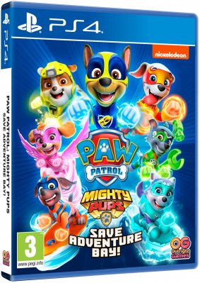 Tlapková patrola - Paw Patrol: Mighty Pups Save Adventure Bay - PS4