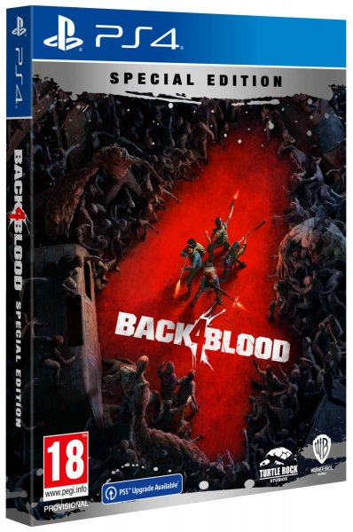 detail Back 4 Blood Special Edition D1 - PS4