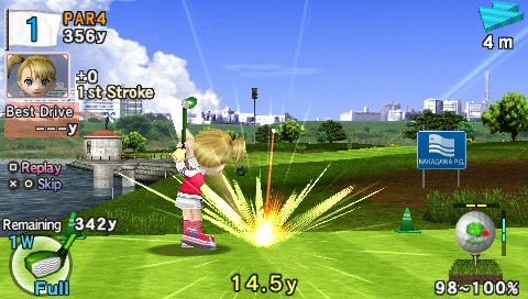 detail Everybodys Golf 2 - PSP