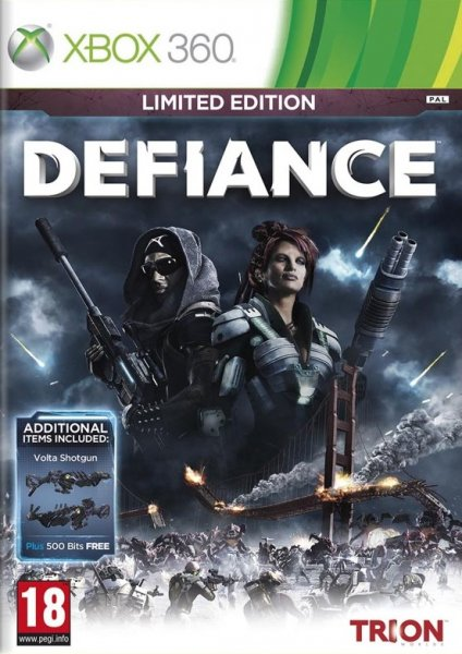 detail Defiance Limited Edition - X360 Kinect