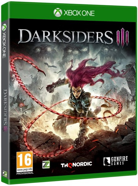 detail Darksiders III - Xbox One