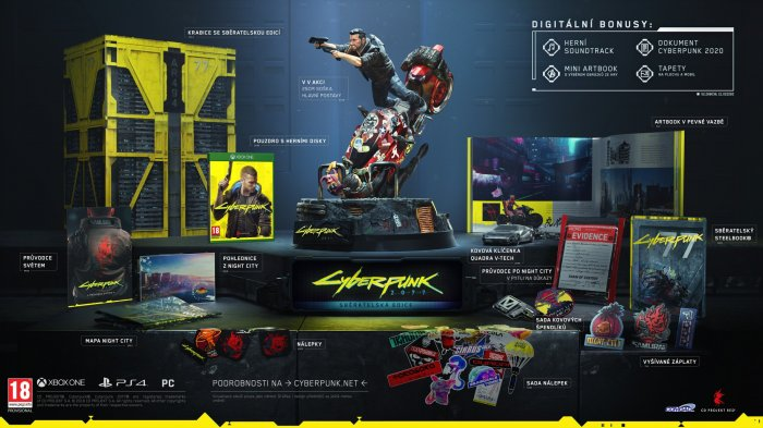 detail Cyberpunk 2077 Collector's Edition - Xbox One