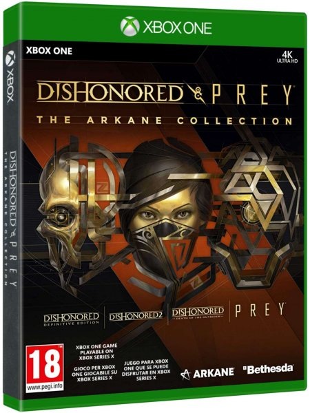 detail Dishonored and Prey: The Arkane Collection - Xbox One